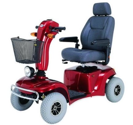 Best mobility scooters for going up hills inclines for Motorized carts for seniors