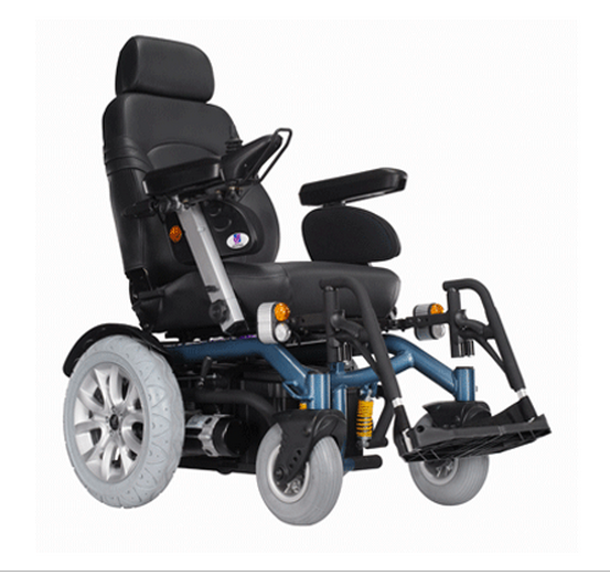 Challenger CL: The Premier 4 wheel power wheelchair