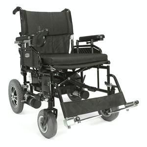 Quality power wheelchair + Folding power wheelchair = Wildcat 450