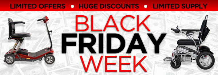 black friday discounts for mobility scooters