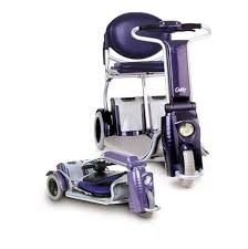 caddy folding mobility scooter