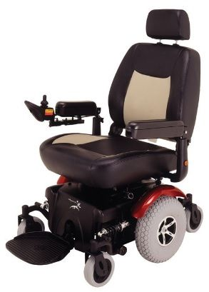 Merits Health P327 Vision Super Power Wheelchair