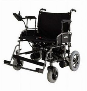 Merits Health P182 Heavy-Duty Folding Power Wheelchair