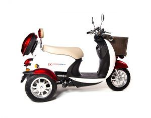 Charged Mobility Tandem Sport 4-Wheel Mobility Scooter