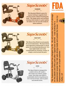 Supascoota Product Brochure
