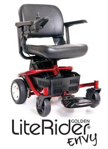 4 wheel power wheelchair: ENVY