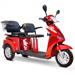 Mobility Scooter with Two Seatss: The EW 66