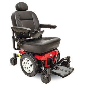 Jazzy 600 ES Power Wheelchair