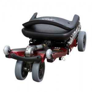 Luggie Elite 4-Wheel Mobility Scooter Folded