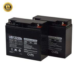 22 AH Half-U1 Battery (Pair)