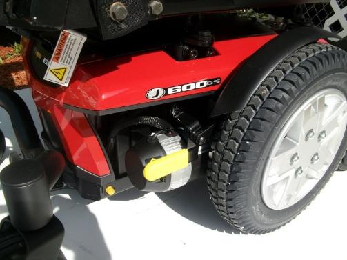 Wheel Jazzy 600 ES Power Wheelchair