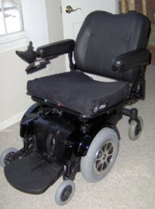 Used electric wheelchair for sale