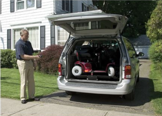 Pride BackPacker Plus Inside Platform Vehicle Lift