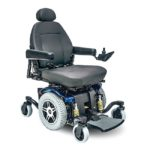 Jazzy 614 HD Power Wheelchair. Photo via Mobility Scooters Direct.