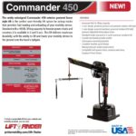 Pride Commander 450 vehicle lift brochure
