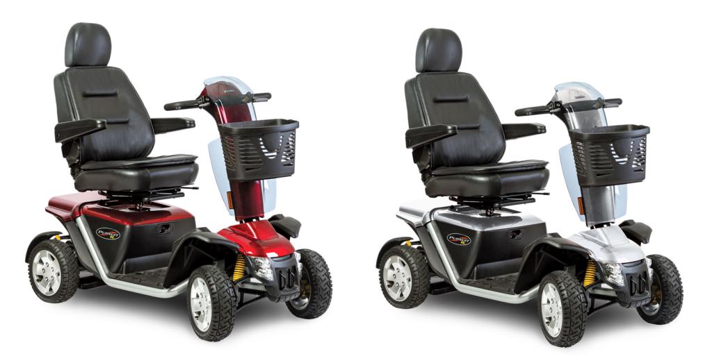 Pride Pursuit XL PMV disability scooters. (Pride Mobility photo)