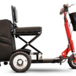 EWheels EW-01 Speedy 3-Wheel Mobility Scooter. (Credit Mobility Scooters Direct)