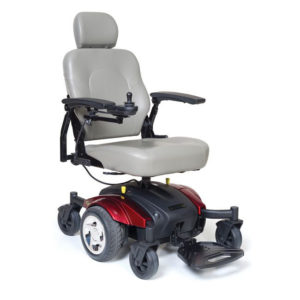 Golden Compass Sport Electric Wheelchair. (Credit: Mobility Scooters Direct.