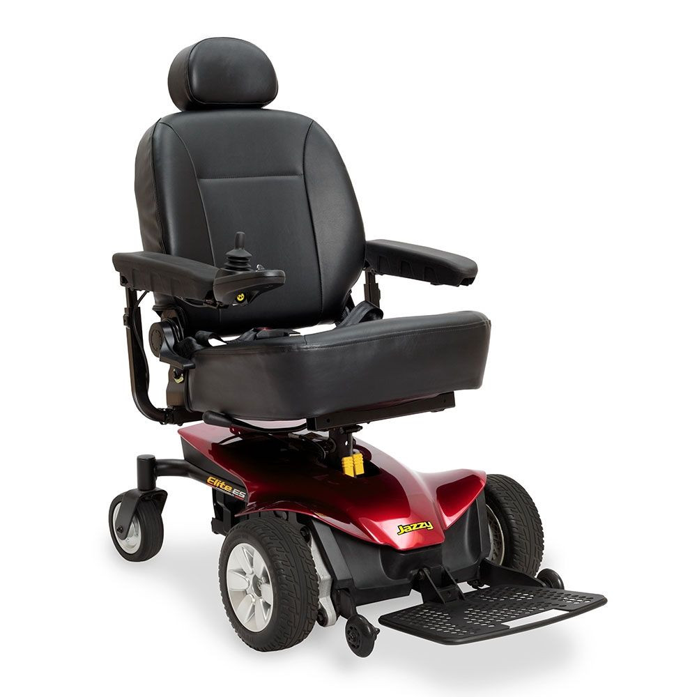 Jazzy Elite ES Portable Power Wheelchair for the Disabled. (Credit: Mobility Scooters Direct)