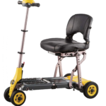 Merits Health Yoga S542 Folding 4 Wheel Mobility Scooter