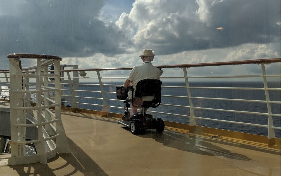 mobility scooter for cruises