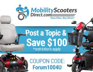mobility scooter discounts