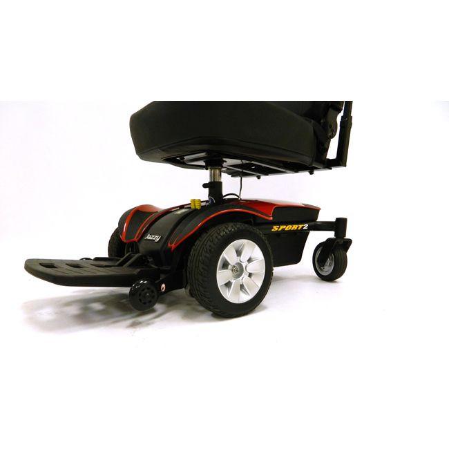 More Views Jazzy Sport 2 Power Wheelchair