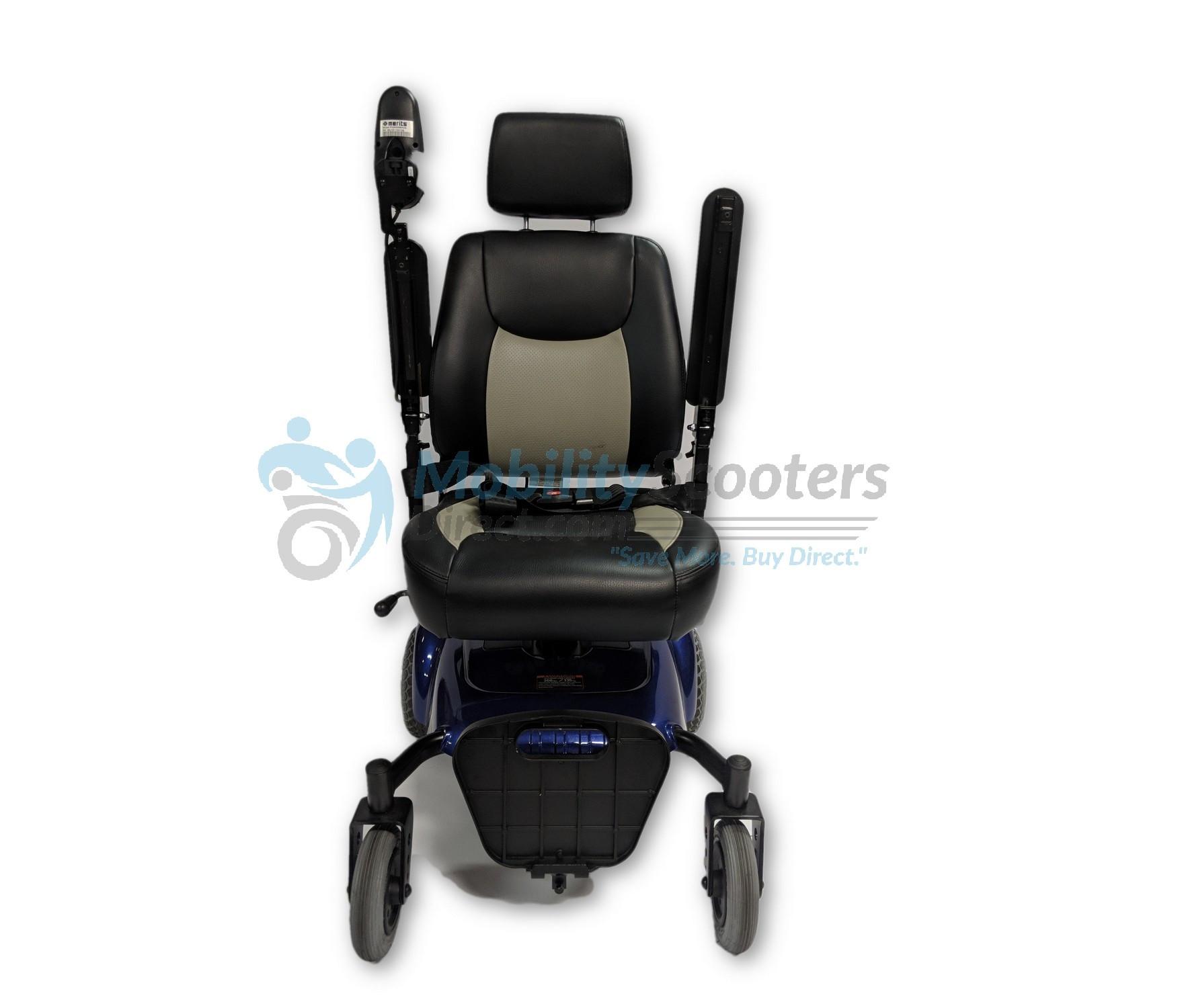 Merits P320 Junior - Micro Lite Compact Power Wheelchair on