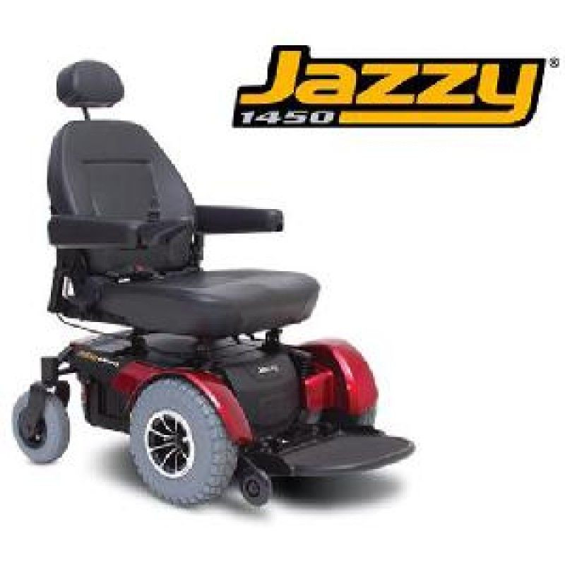 Jazzy 1450 power wheelchair for sale lowest prices for Motorized wheelchair for sale