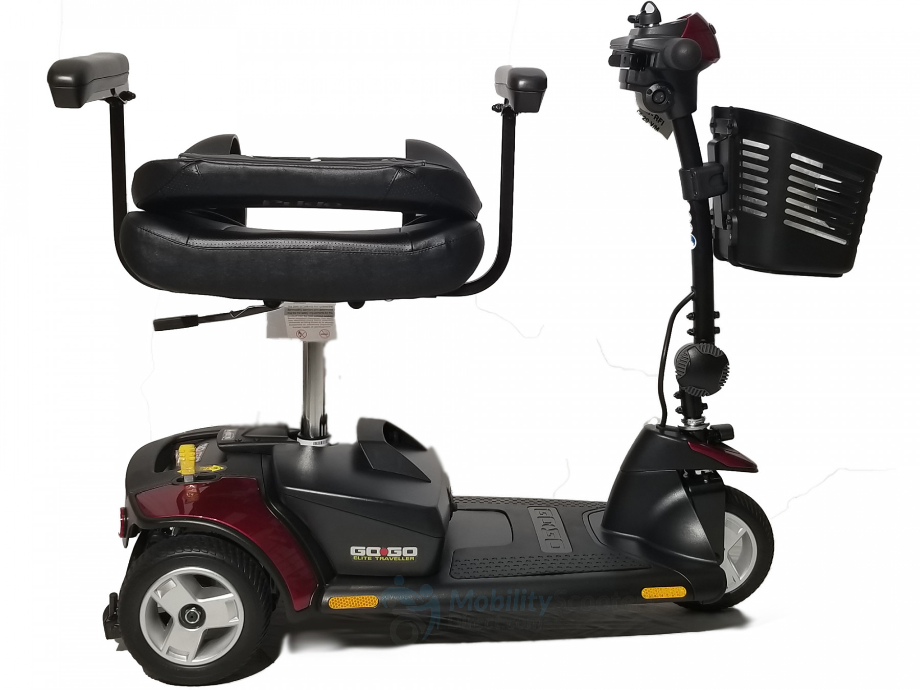 Pride Mobility Scooter >> Go-Go Elite Traveller Mobility Scooter for Sale - Lowest Prices Tax-Free & Free Shipping