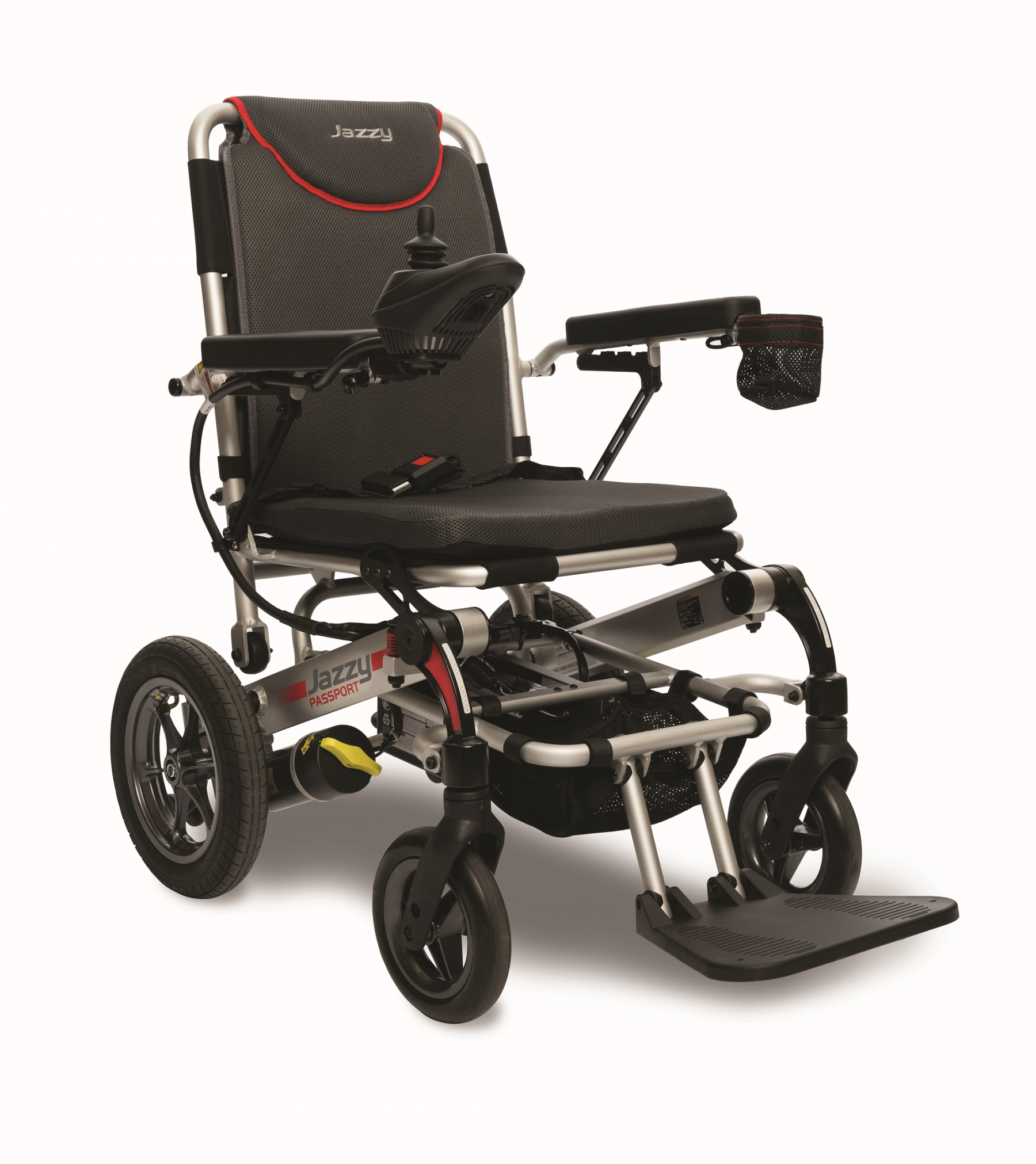 Pride jazzy passport folding power wheelchair for sale online for Cost of motorized wheelchair