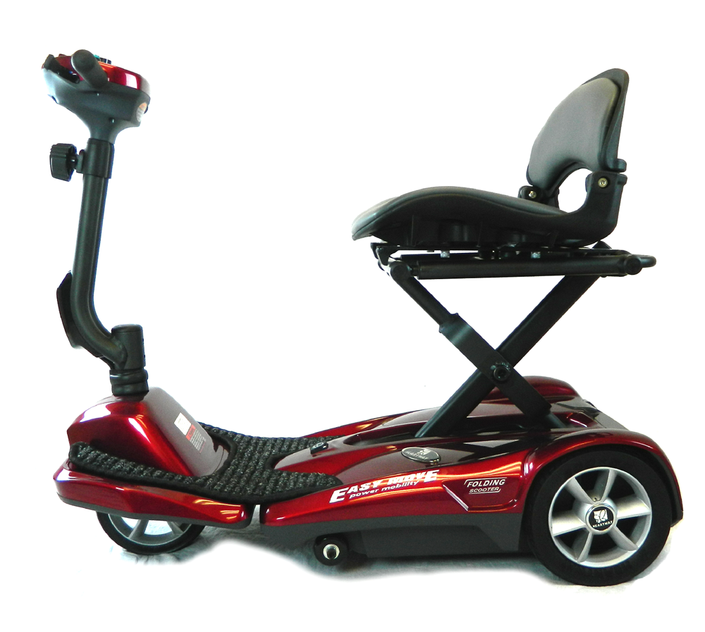 Buy 3 Get 1 Free Tires >> Heartway S21 PASSPORT EasyMove Automatic Folding Scooter, Tax-Free & Free Shipping
