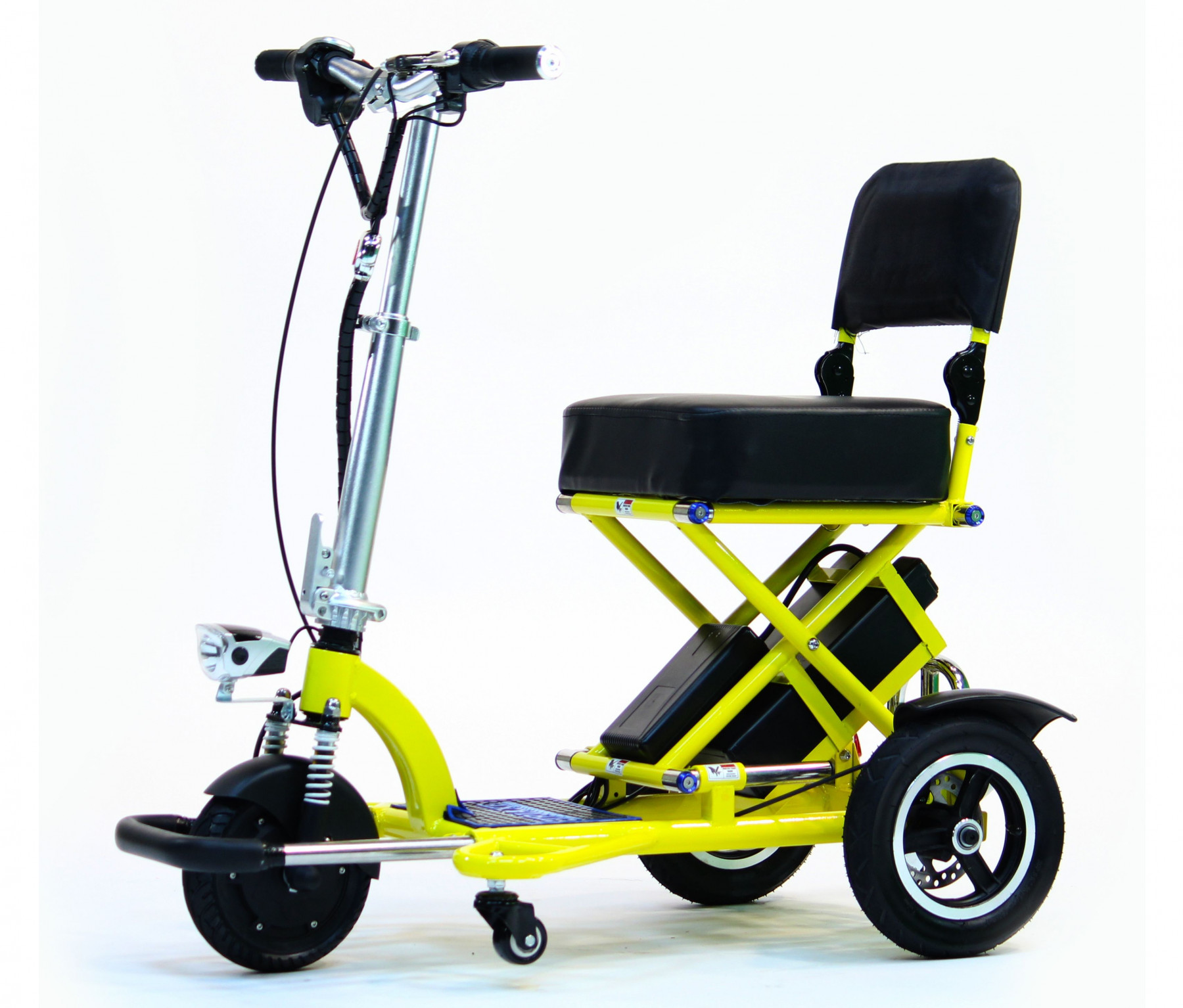 Triaxe Sport Scooter Folding Travel Mobility Scooters