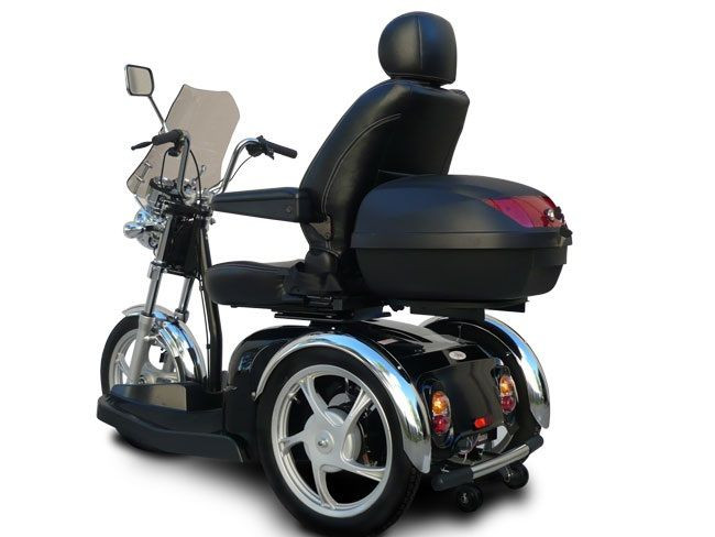 EV Rider SportRider SGL Mobility Scooter Optional Windshield & Travel Case