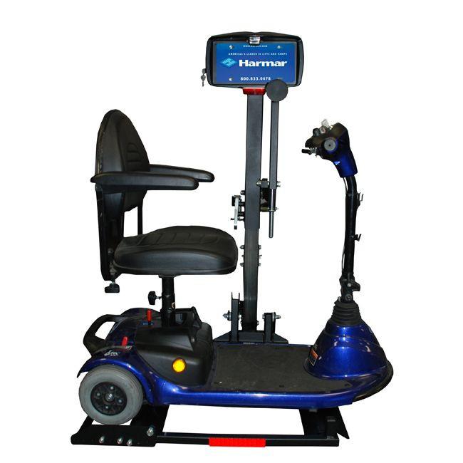 AL160 Profile Scooter In-Use