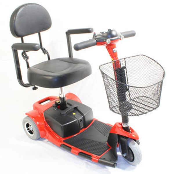 Zip'r Roo 3-Wheel Red Mobility Scooter for Sale