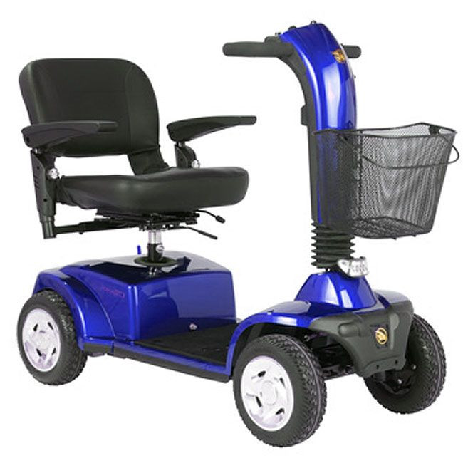 Companion 4-Wheel Mobility Scooter for Sale Blue