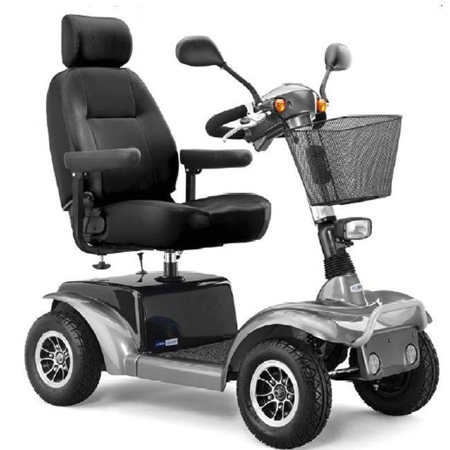 Prowler Mobility Scooter for Sale Silver