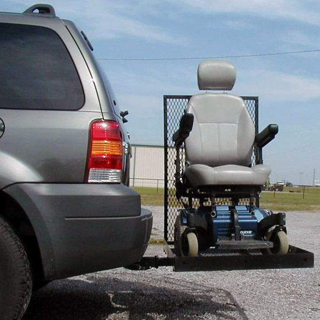 E z carrier 1 standard scooter power wheelchair view for Motorized wheelchair lifts for cars