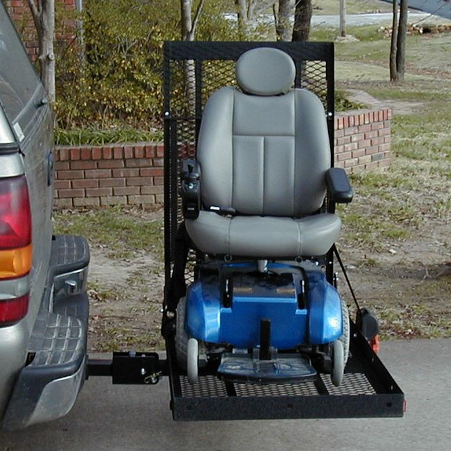 E Z Carrier 2 Fold Up Scooter Amp Power Chair Vehicle Lift