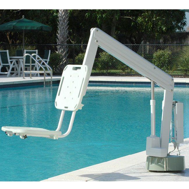 aXs Pool Lift Installed