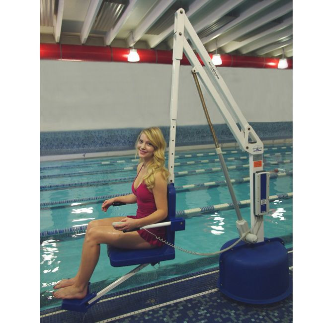 Revolution Pool Lift In-Use