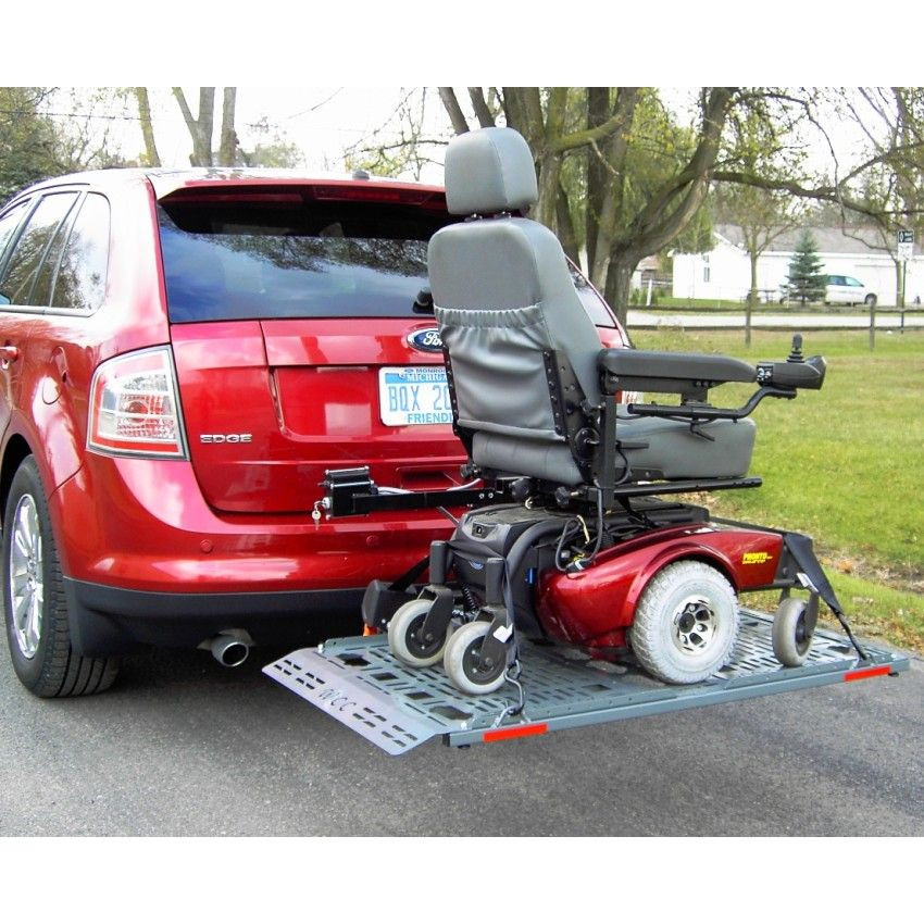 Lift 'n' Go vehicle lift loaded