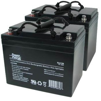 12V 35 AH Sealed Lead Acid (Pair)