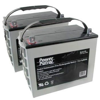 12V 75 AH Sealed Lead Acid (Pair)