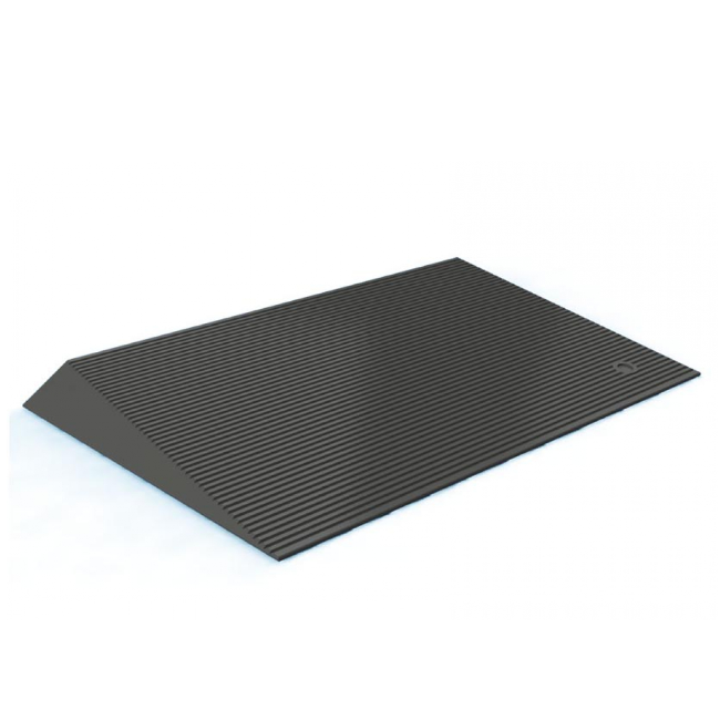 "2.5"" Rubber Threshold Ramp"