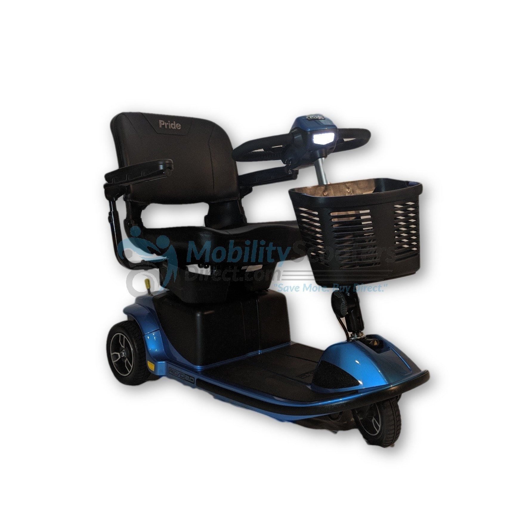 Pride Mobility Scooter >> Pride Revo 2 0 Mobility Scooter 3 Wheel