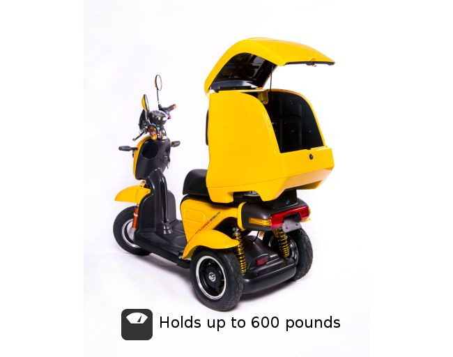 Charged Mobility CargoSport 3-Wheel Mobility Scooter For Sale
