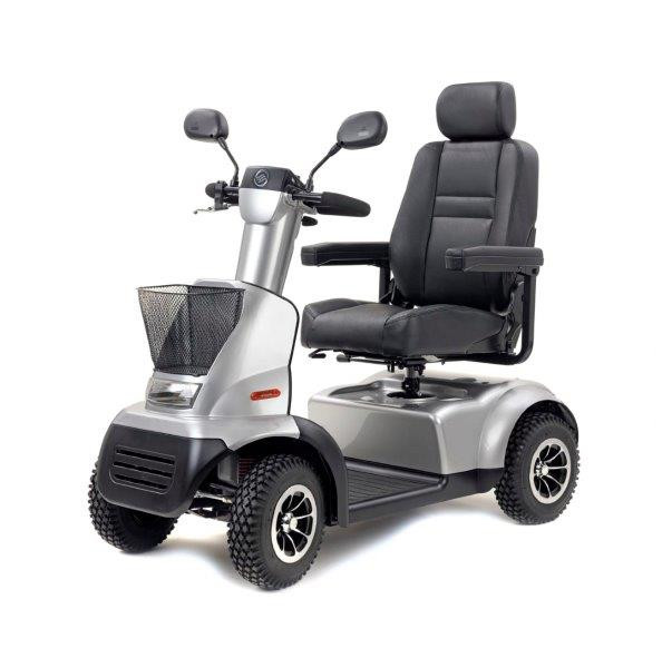 Afikim Afiscooter C 4-Wheel Mobility Scooter for Sale Silver