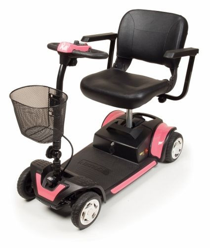 Buzzaround XL 4-Wheel Pink Mobility Scooter for Sale